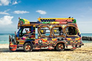 Colorful-beach-bus