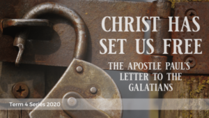 Christ Has Set Us Free. The Apostle Paul's Letter To The Galatians