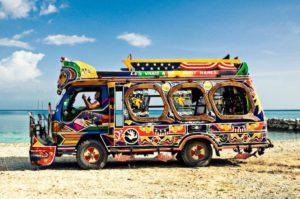 Colorful-beach-bus