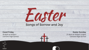Easter 2019. Songs of Sorrow and Joy